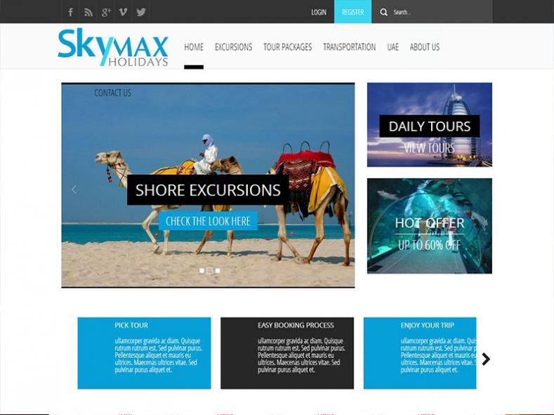 SkyMax Holidays