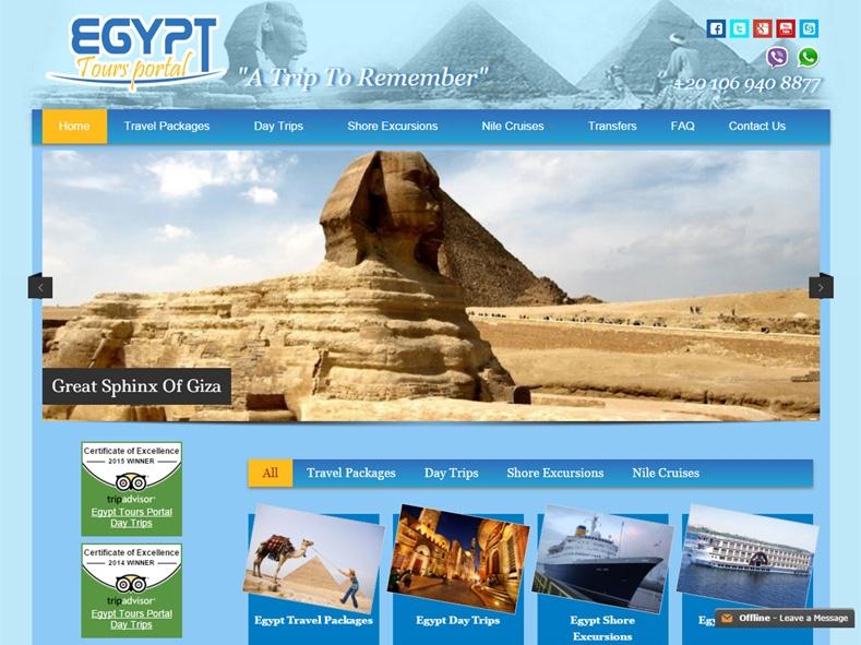 Egypt Tours Portal