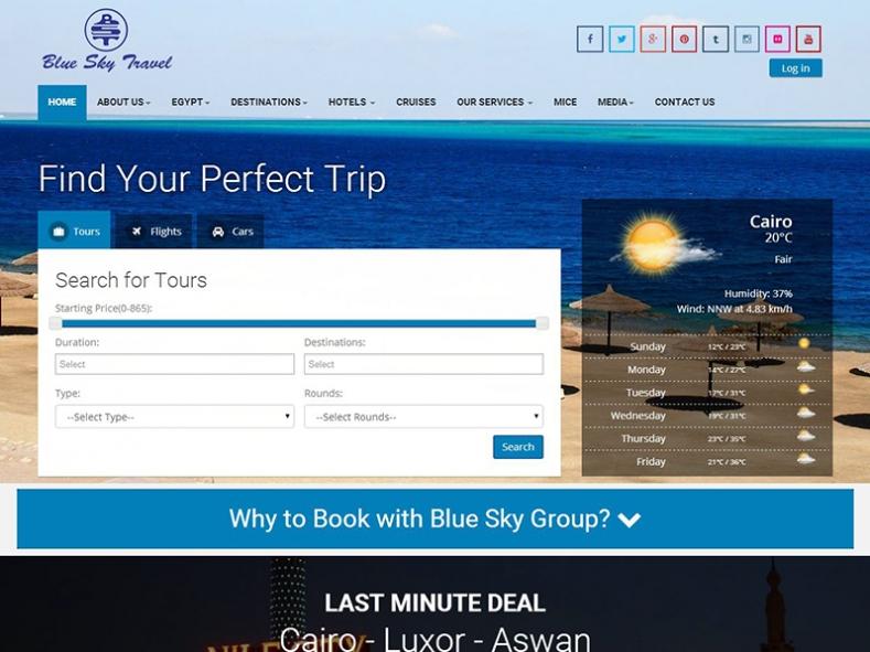 Blue Sky Travel Egypt